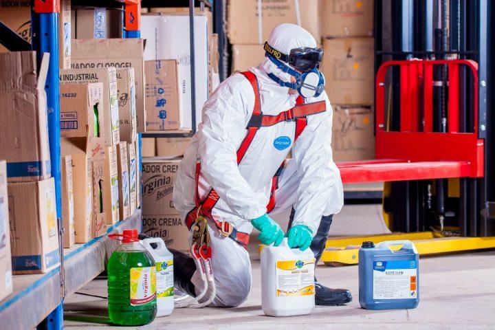 შრომის უსაფრთხოების ტრენინგი ქიმიურ ნივთიერებებთან მუშაობა
